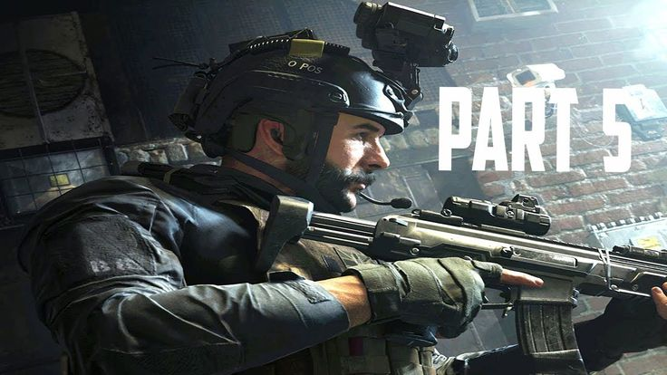 Call Of Duty Modern Warfare Playthrough Gameplay Part 5 Campaign