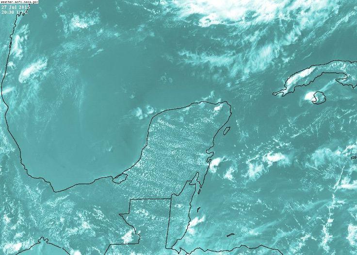 Pronóstico de altas temperaturas con baja probabilidad de lluvias para los siguientes días