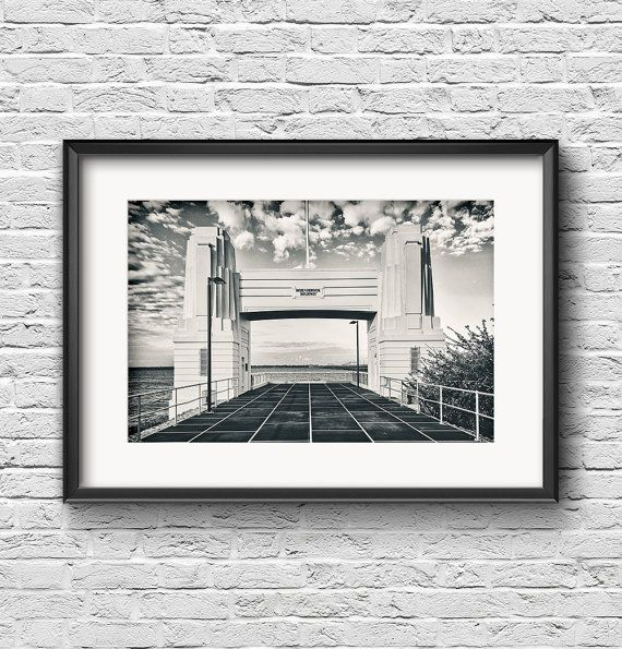 Highway Noir  FREE SHIPPING  Black and White by ZacHarneyMedia