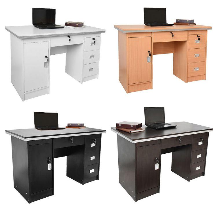 Luxury Computer Desk PC Table Study Desk Home Office Furniture Workstation