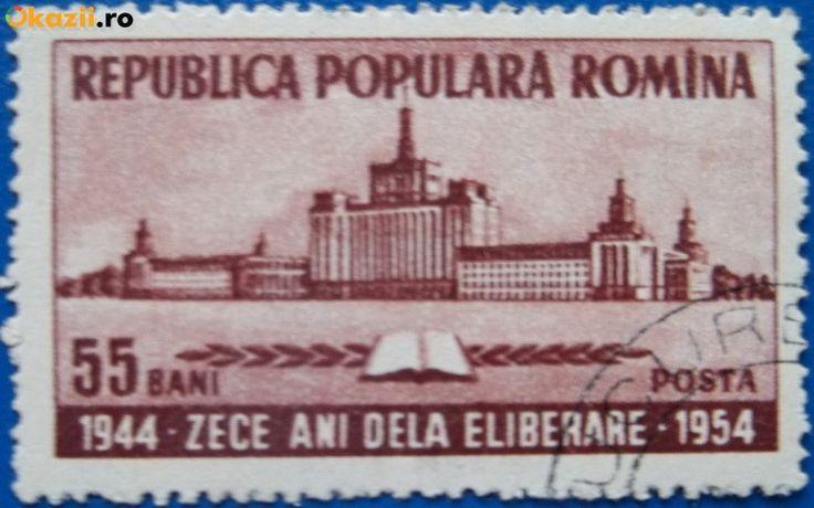 Romania 1954, A X-a Aniversare a eliberării patriei