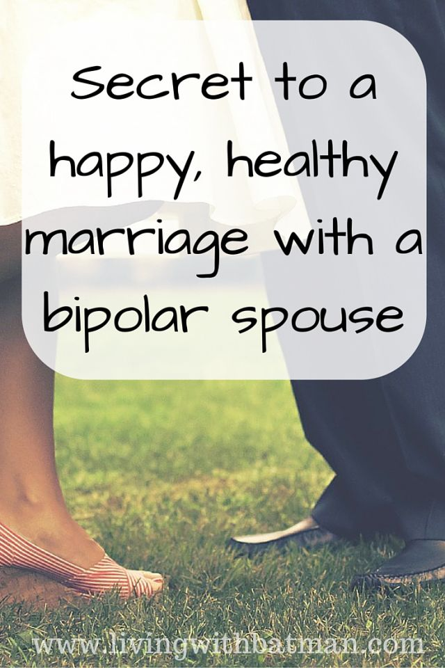 Some statistics quote that up to 90% of marriages, where one spouse is bipolar, will end in divorce. Does your union have what it takes to be in the 10%?