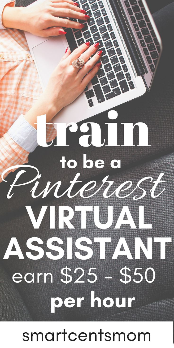 Looking for work at home opportunities? Love Pinterest? Become a Pinterest virtual assistant and work from home! No experience required, this is a perfect work at home opportunities for beginners. You can easily train online and start making $25 - $50 per