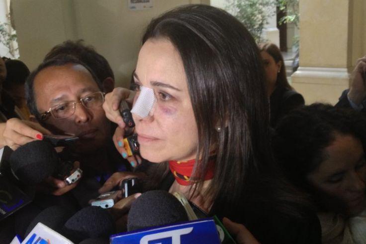 María Corina Machado envía carta al Congreso de Colombia | ELESPECTADOR.COM