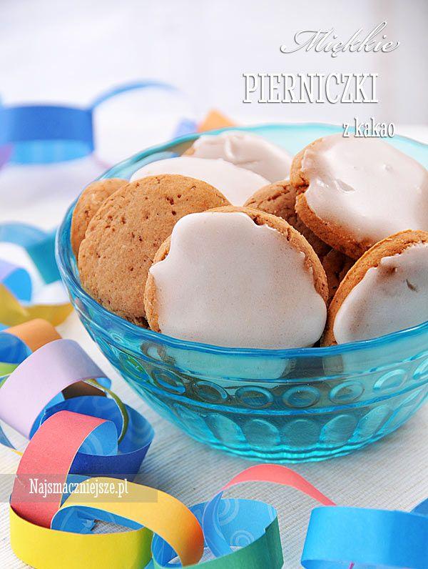 Pierniczki z kakao, pierniki, ciasteczka na święta, http:najsmaczniejsze.pl #food #pierniki #święta
