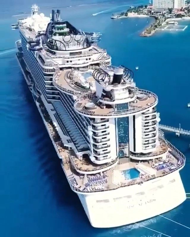 The Luxury Hall On Instagram Huge Incredible Luxury Cruise Tag Someone You D Travel Here With By Biggest Cruise Ship Luxury Cruise Ship Cruise Ship