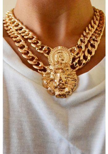 Lion Head Necklace   STYLEADDICT.COM.AU