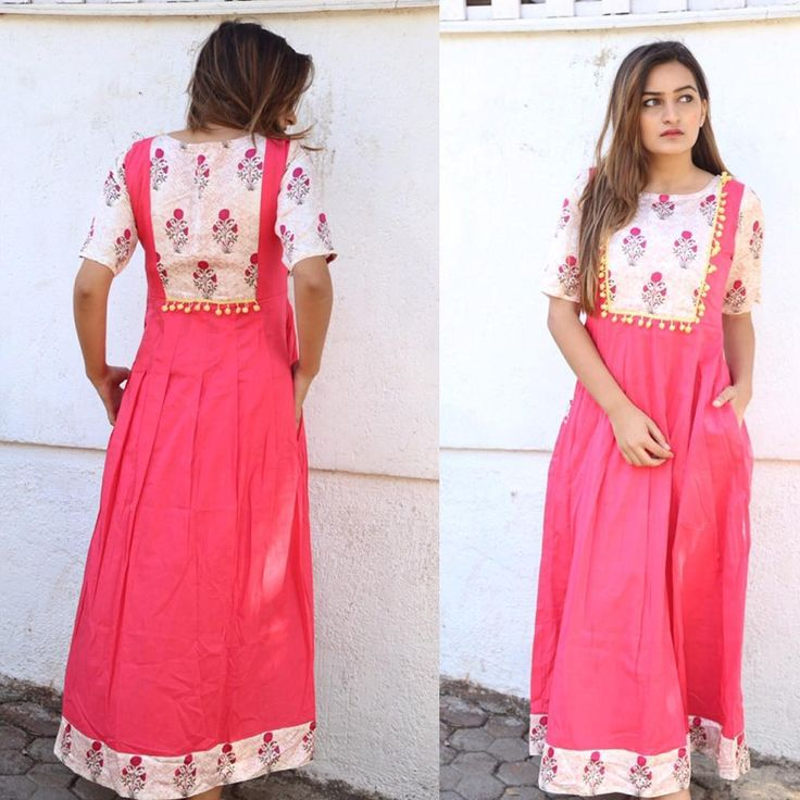 Pink Floral Pom-Pom Maxi. Shop this Cute Pom-Pom Maxi only on Miar. For details and bookings plz contact on 9867510200.  Miar#floral#pink#pom-pom#chic#contemporary#fashion#happyshopping #keepshopping