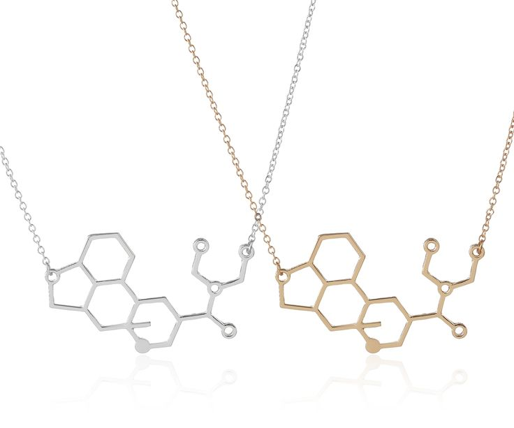>> Click to Buy << 2016 New Arrival Gold color Molecule LSD Necklace Chemistry Science Pendant Necklace Jewelry For Women Wedding Souvenirs XL044 #Affiliate