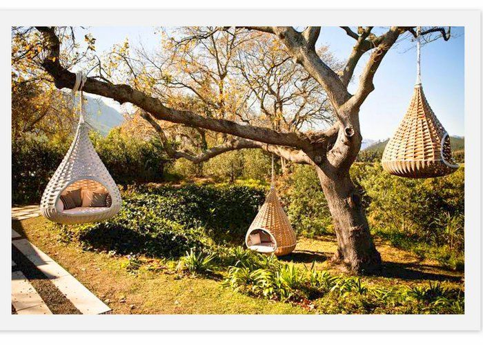 Rest Nest Hanging Pod - This is where I want to spend my weekend.