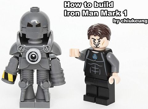 LEGO-Iron-Man-Mark-I- | For Gregory | Pinterest | Irons ...