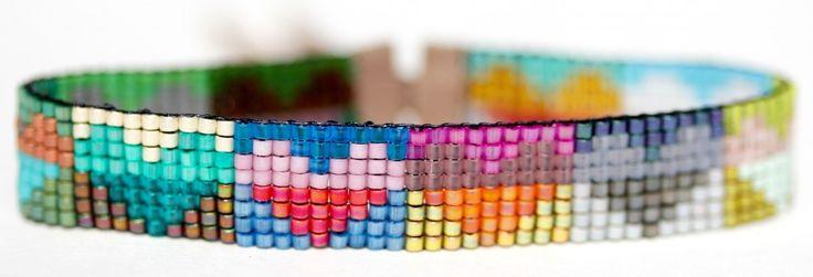 HEARTS bracelet at http://julierofmanjewelry.com//hearts-bracelet