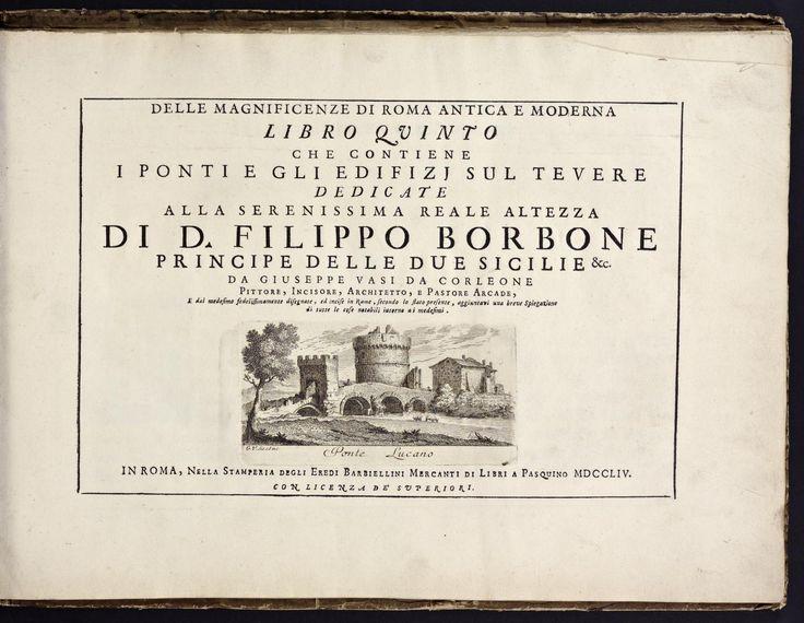 Delle magnificenze di Roma antica e moderna Libro V e VI