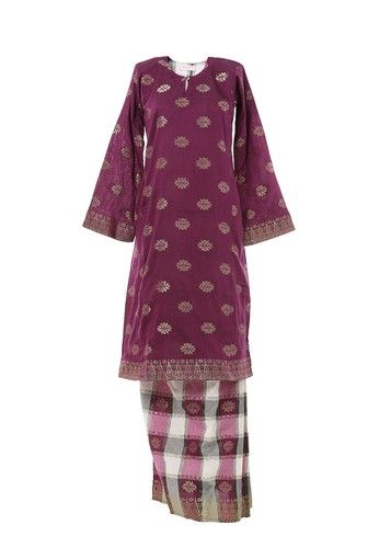 Women's Kurung Pahang Songket Tabur Purple from MOTHER & CHILD in Purple Women's Kurung Pahang with Songket Motif very suitable for Raya celebration or any occasion.Material used with 100% cotton with Traditional Songket Motif Skirt. ... #bajukurung #bajukurungmoden