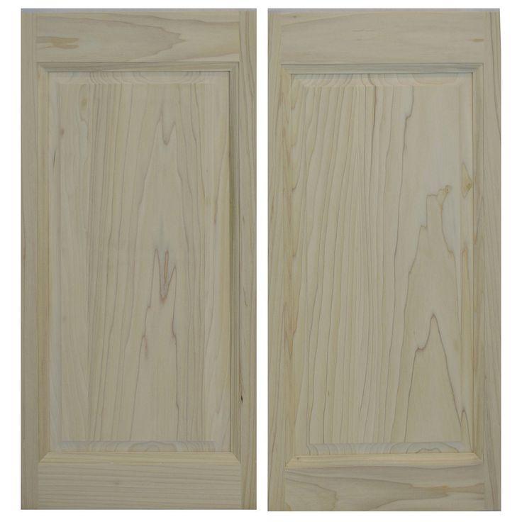 """Swinging Cafe Doors - Solid Poplar Raised Panel Western Cafe Doors / Saloon Doors Fits Any 32"""" / 2' 8"""" Door Opening, $199.99 (http://www.swingingcafedoors.com/solid-poplar-raised-panel-western-cafe-doors-saloon-doors-fits-any-32-2-8-door-opening/)"""