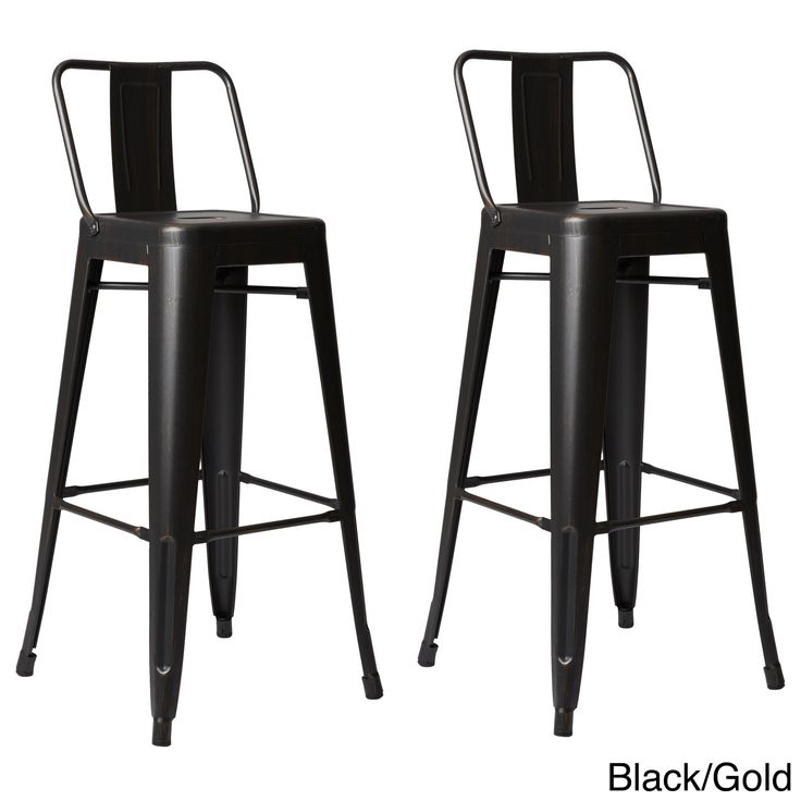 AC Pacific Steel 30 Inch Bar Stool