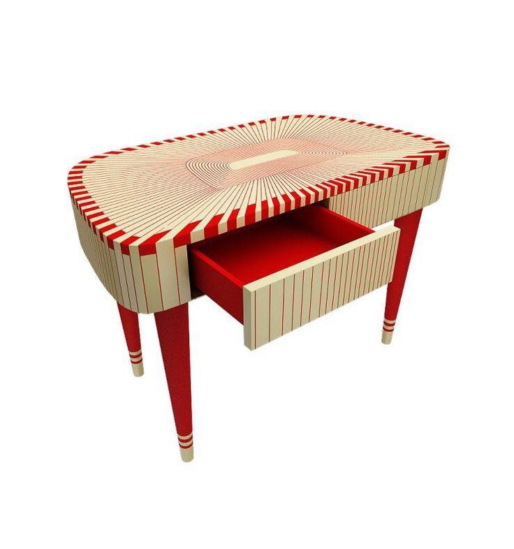 """Resin inlay """"Paris Bureau"""" desk from Scarlet Splendour"""