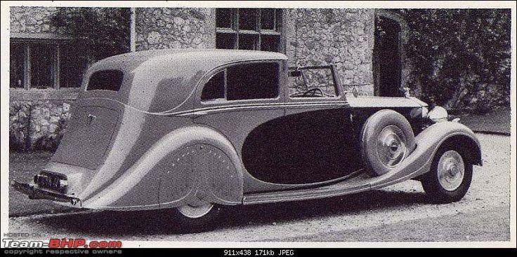 Rolls Royce Phantom III Barker Sedanca Deville built for the Maharajah of Jaipur