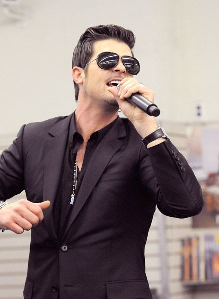 Robin Thicke.  I know you want it