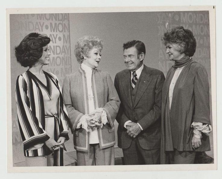 Bea Arthur and Lucille Ball | MARY TYLER MOORE LUCILLE BALL ARTHUR GODFREY BEA ARTHUR VINTAGE 1975 ...