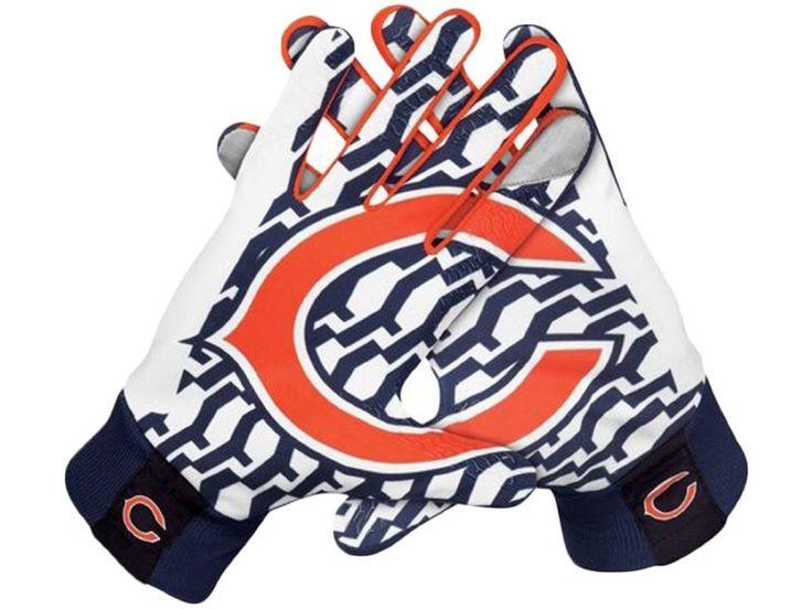 Nike NFL Lightweight Fan Gloves Chicago Bears Multi GF0111 060 Large