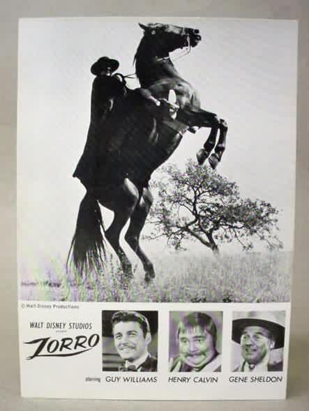 El verdadero Zorro, Guy Williams - Taringa!