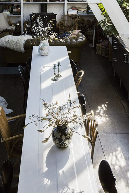 grande table blanche
