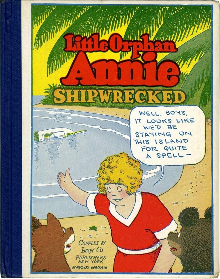 Little orphan annie cupples leon platinum age comics