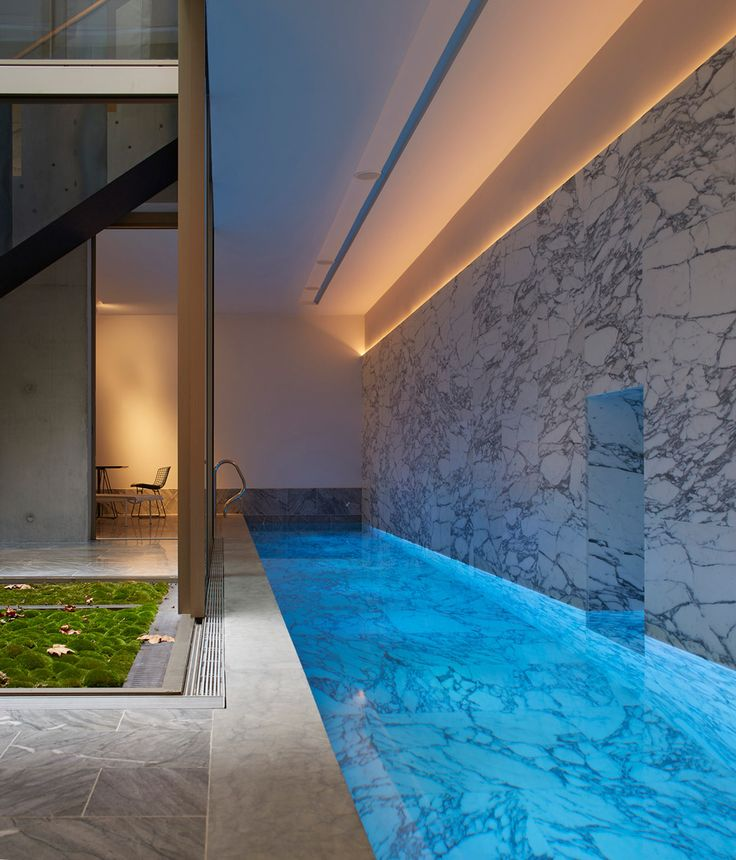 1497 best swimming pools images on pinterest outdoor - Houses with swimming pools in london ...
