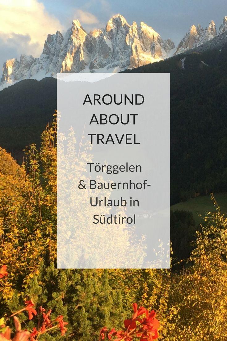 """Wir lieben Südtirol – besonders im Herbst. Wir wandern über wunderschöne Wege durch bunte Wälder unterhalb der Dolomiten. Kehren in Buschenschanken am """"Keschtnweg"""" ein, die leckeren Wein ausschenken und uns ein köstliches Törggele-Menu servieren. Und kehren anschließend auf unseren Bauernhof zurück, der uns als Ferienquartier dient. Ein rundum gelungener Herbsturlaub – auch dieses Jahr wieder! #südtirol #bauernhof #bauernhofurlaub #familie #kinder"""
