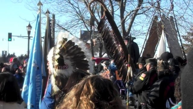MANKATO —   Standing in Reconciliation Park, site of the hanging of 38 Dakota men, Arvol Looking Horse spoke of a long journey coming to an end.
