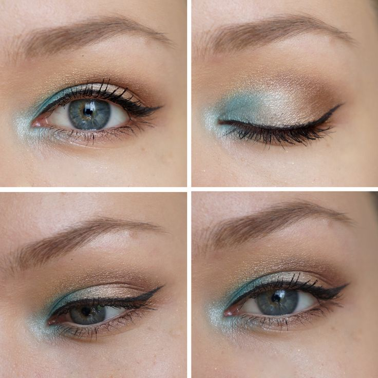 Great pop of color in the inner corner for blue eye'd people