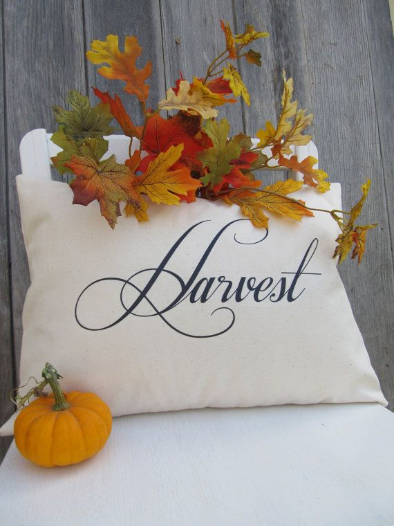 Harvest Pillow Cover By Cedarstreetcreations On Etsy 16