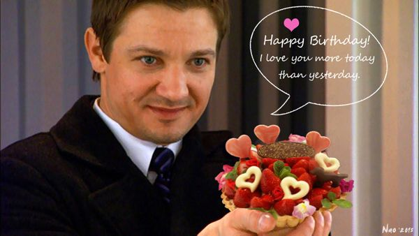 f00dd7a58bb2b1af9070e739c2ba383a jeremy renner happy birthday happy birthday! jeremy renner my edit (photo shop) jeremy,Happy Birthday Jeremy Meme