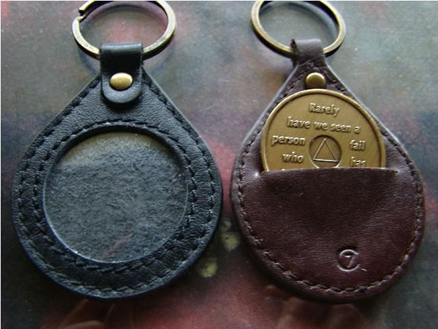 Medallion Key Chain Holders | 12 Step Sobriety Gifts Recovering ...