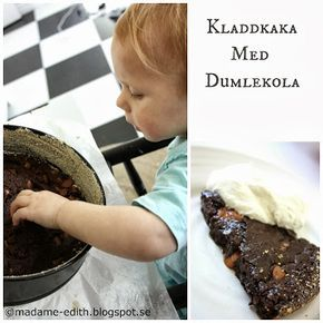 Madame Edith - Recept: Kladdkaka med dumle