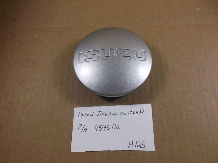 2004-2008 Isuzu Ascender Silver Wheel Center Cap Factory p/n: 9595116 oem H125 #Isuzu