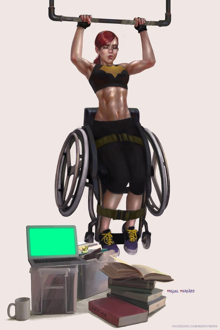 ArtStation - Oracle Workout, Miguel Mercado