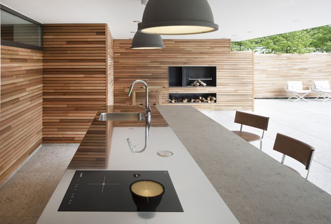 #kitchen project: Arclinea Frankfurt  Arclinea dealer: Arclinea Frankfurt  Photos: Walter Vorjohann