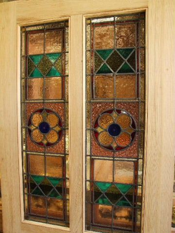 Victorian Style Stained Glass Front Door Doors