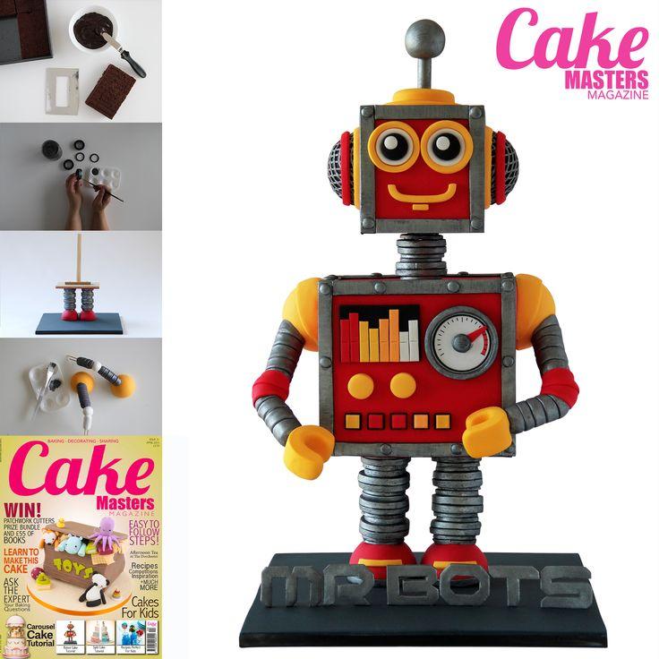 Aweseome robot cake tutorial
