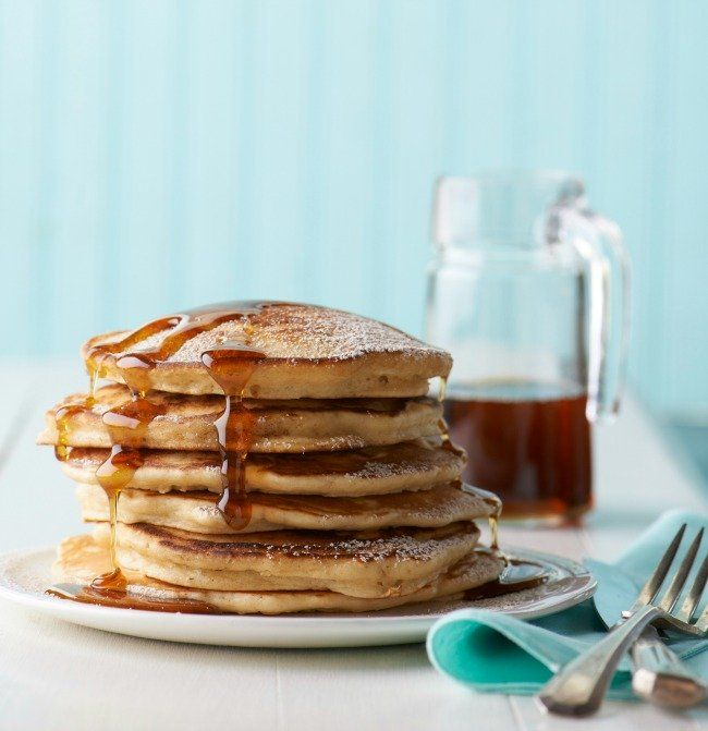 Make the Best Pancakes from Scratch | Stack of Pancakes
