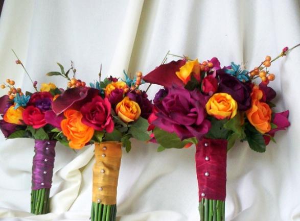 Love the colors! Sangria wedding