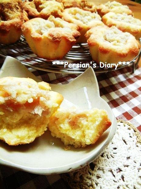 りんごのコンポートのアーモンドケーキ♪ - ***Persian's Diary ***