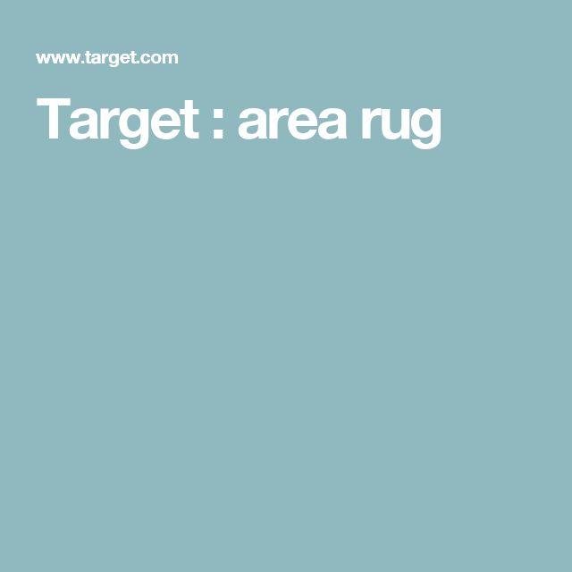 Target : area rug