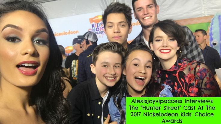 Hunter Street Cast Interview With Alexisjoyvipaccess - 2017 Nickelodeon KCA