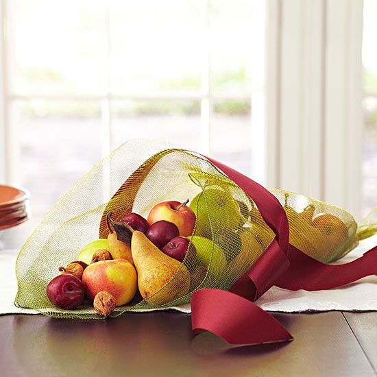 Create a Contemporary Cornucopia