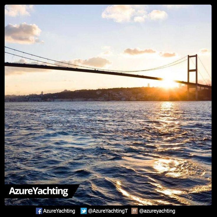Boğaz turu, Azure Yachting ile keyifli...;)  #AzureYachting #Boğazturu #deniz #keyif #tekneturu #boattour