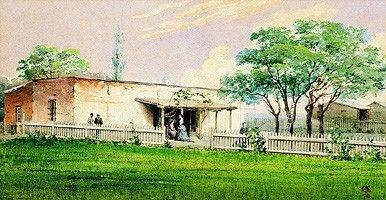 """JA - """"ESTANCIA DE LA FAMILIA ANCHORENA EN RAMALLO"""" - 1870"""