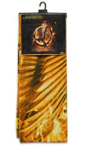 The Hunger Games 2 Fleece Blanket Mockingjay Merchandise 24/7 http://www.amazon.com/dp/B00GAH4CLK/ref=cm_sw_r_pi_dp_DgHoub1MM55KM